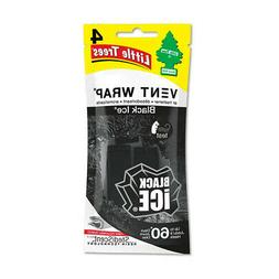 12 Little Trees Vent Wrap Car Air Freshener Black Ice Scent