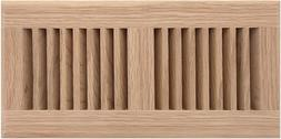 """12"""" X 2"""" Decorative Wood Supply Air Vent Hvac Duct Cover Gri"""
