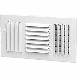 """16"""" X 3-Way Fixed Curved AIR Supply Diffuser Vent Duct Cover"""