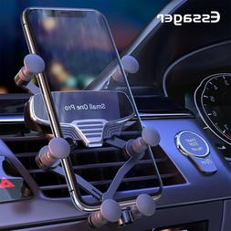 2 Of The BEST Adjustable Gravity Phone Holder Vent Clip Moun