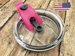 20oz 100% Spill Proof Pop-Latch Vent for Steel Tumbler YETI,