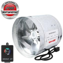 """4"""" 6"""" 8""""Duct Booster Inline Blower Fan Exhaust Ducting Cooli"""