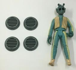 4 CUSTOM DIORAMA SMALL VENT LOT for 3.75 inch FIGURES 1:18 G