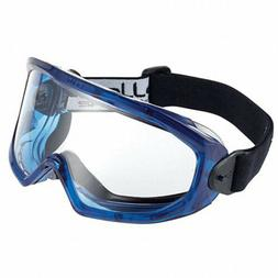Bolle Safety 40296 Clear Scratch-Resistant Non-Vented Safety