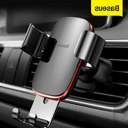 Baseus Air Vent Mount Gravity Car Phone Holder Stand for iPh