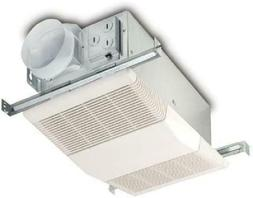 Bathroom Vent Fan with Light and Heater 70 CFM Ceiling Exhau