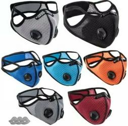 BlackLabel Reusable Dust Mask W/Dual Vents And 3 Replaceable