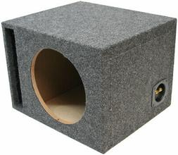 """Car Audio Single 15"""" Vented Subwoofer Stereo Sub Box Ported"""