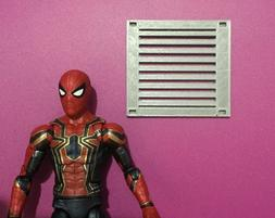 Custom Action Figure Diorama Display Accessory Air Vent Gril