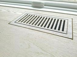 CUSTOM FLUSH MOUNTED ENGINEERED WOOD FLOOR VENTS MADE FROM Y