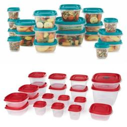 Rubbermaid Easy Find Vented Lids Food Storage Containers 38-