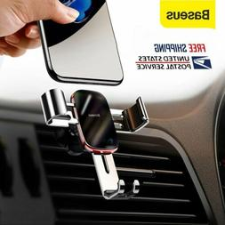 Baseus Gravity Car Phone Holder Stand Air Vent Mount for IPh