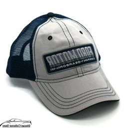 Hat - Ford Mesh Vented Adjustable Ball Cap Grey & Blue FREE