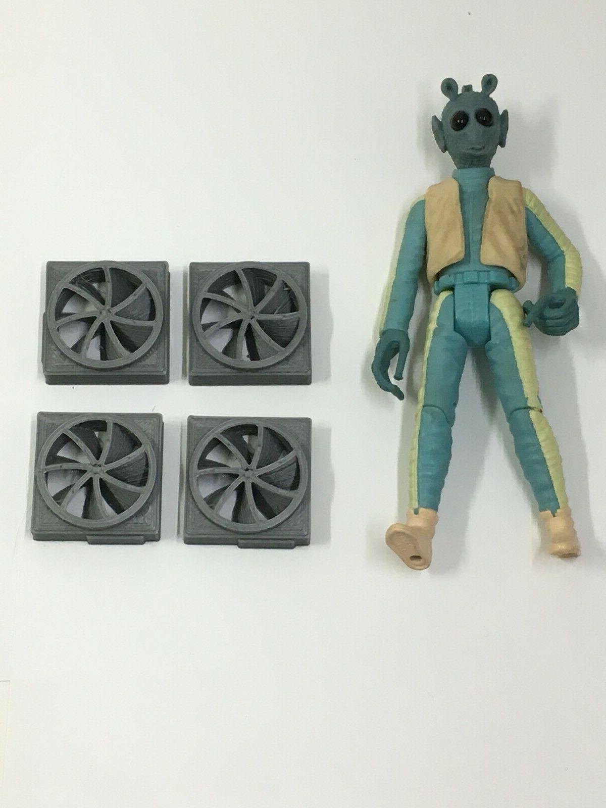 4 custom fans vents for 3 75