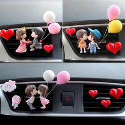 Lovely Couple Car Air Vent Freshener Perfume Clip Aroma Diff