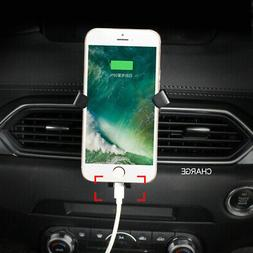 Mobile Cell Phone Holder Car Air Vent Stand 1set for Mazda C