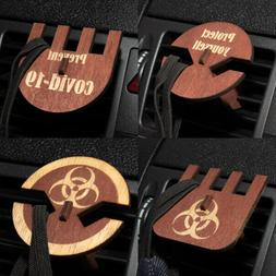 Personalized/Customized Face Mask Car Vent Clip Holder Custo