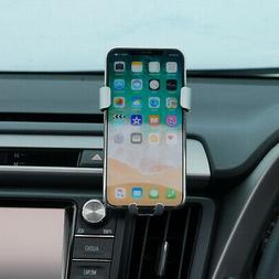 Silver Car Air Vent Mount Phone Cradle Holder Stand For Toyo
