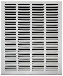 White Wall Return Air Grilles - 57 Different Sizes
