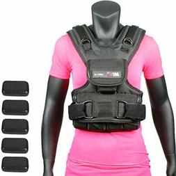 Womens Weighted Vest 10lbs - 50lbs 30.0 Pounds