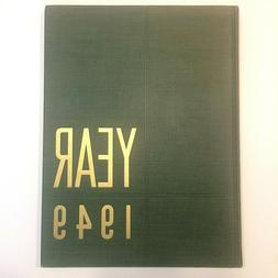 Year 1949 Second Annual Edition HC Book Sept 1948-Sept 1949